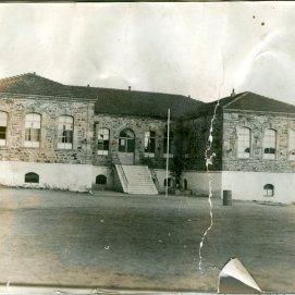 Πίσω όψη Δημαρχείου (παλιό Δημοτικό)