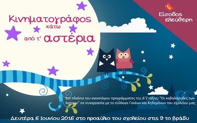 Αφίσα κινηματογραφικής βραδιάς